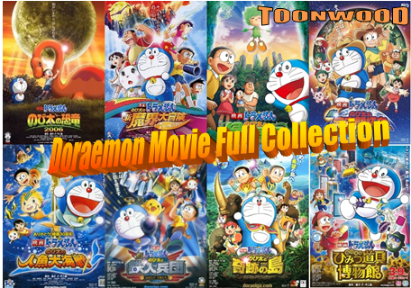 Doraemon Movies Collection In Hindi (1996-2016)