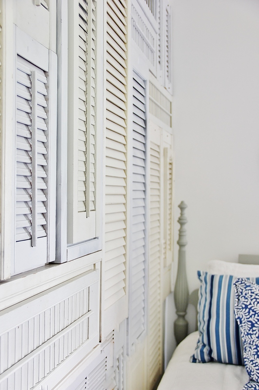 25 Repurposed Shutter Decorating Ideas The Cottage Market