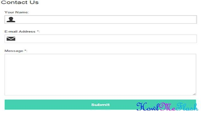 Add Contact Us Form on Blogger Static Page