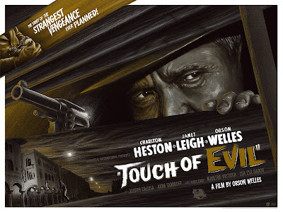 Touch of Evil Movie Poster Immoral Yellow Variant Screen Print by Mike Saputo x Mad Duck Posters