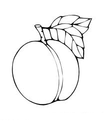 Peaches Coloring Pages Picture | Color Udin