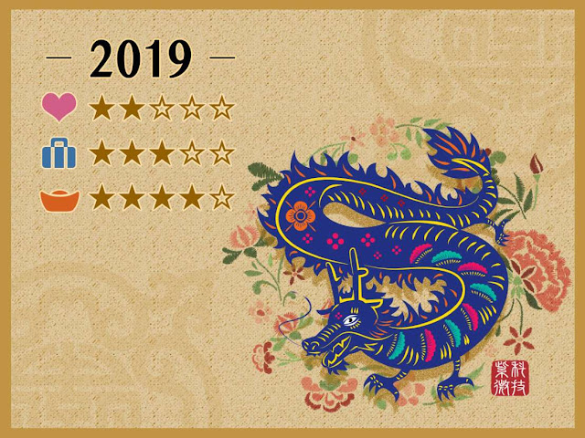 Chinese New Year 2019, Year of the Dragon