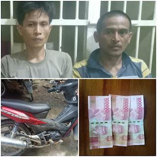 Dua Pelaku Pemerasan Sopir Mobil Berhasil Diringkus