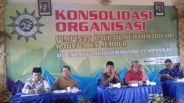 Konsolidasi Organisasi Cabang Muhammadiyah Se-Jember di Wonoasri