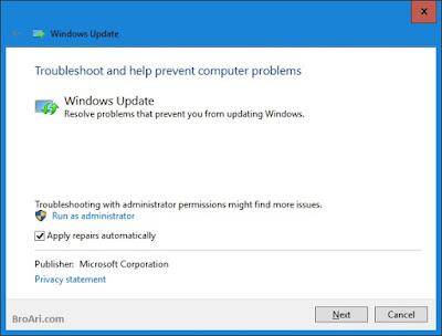 Penyebab dan Cara Mengatasi Windows Update Tidak Berfungsi