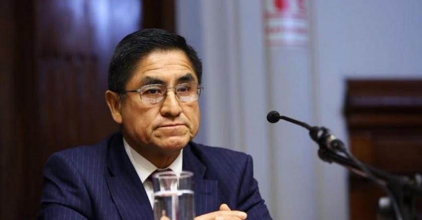 Congreso inhabilita a César Hinostroza por 10 años y es acusado por crimen organizado