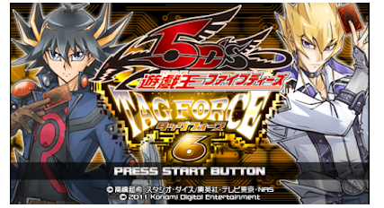 Download Yu-Gi-Oh! 5D's Tag Force 6 English Patched CSO PSP ISO PPSSPP