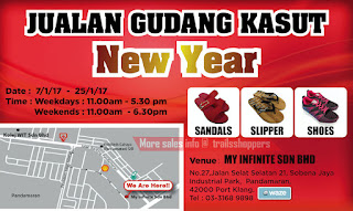 New Year Shoes Malaysia Warehouse Sale 2017