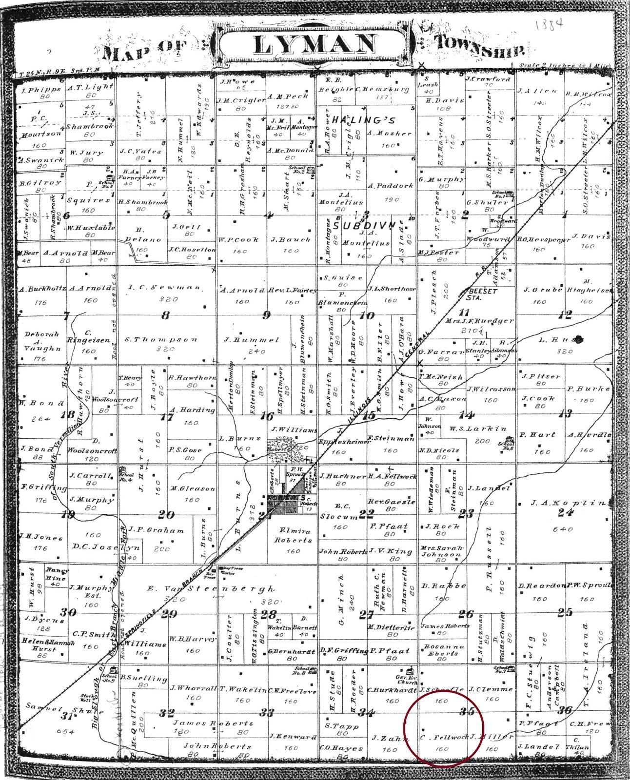 Roberts Illinois History: Charles C. Fellwock