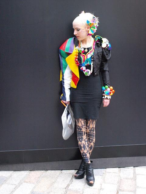 Do You Think London Is Grey? - London Fashion Week