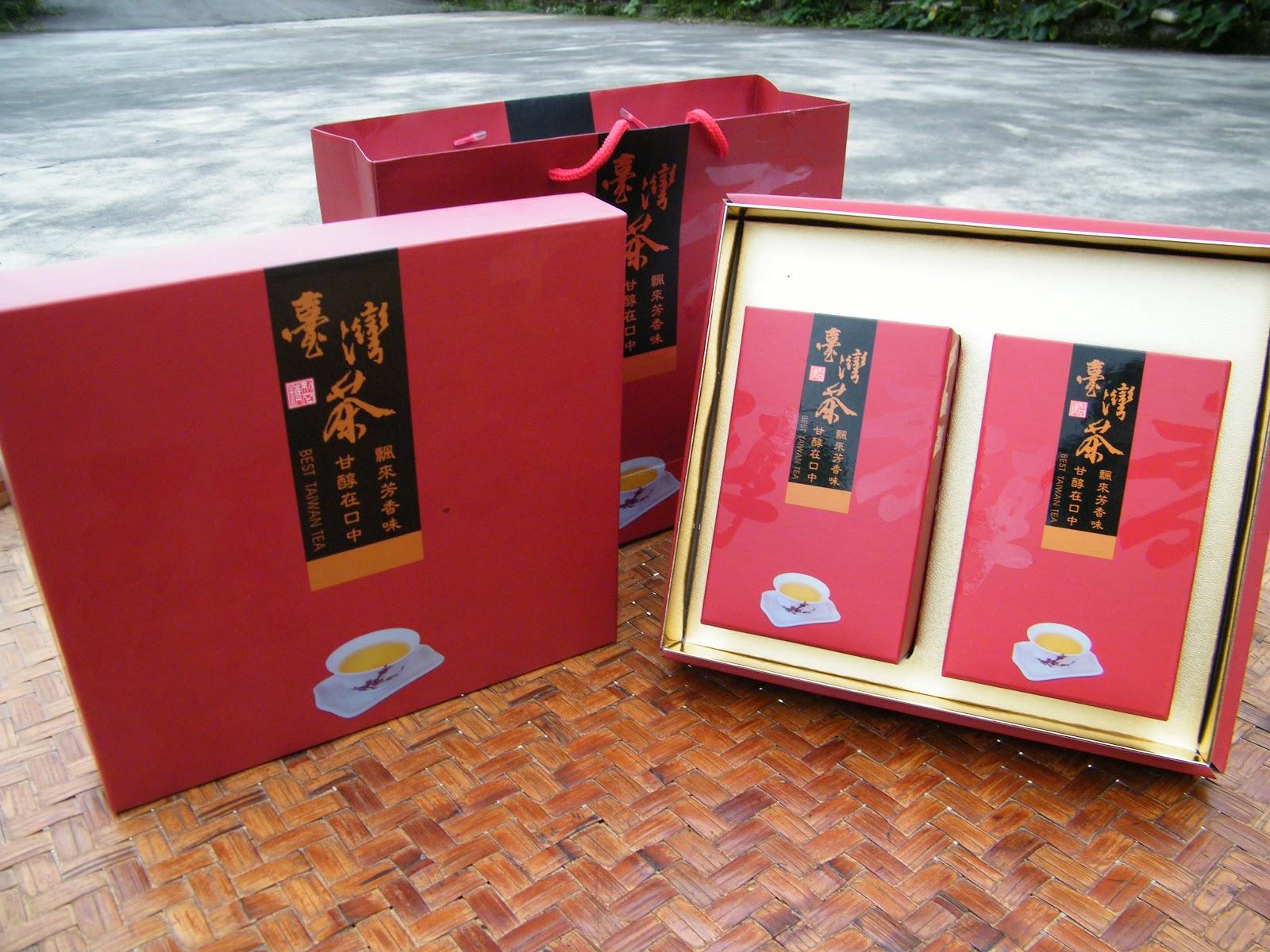 台灣茶禮盒