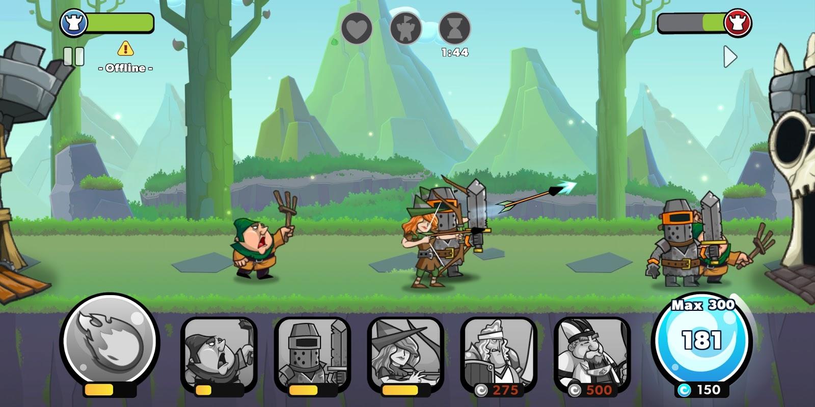 tower conquest mod apk hack download