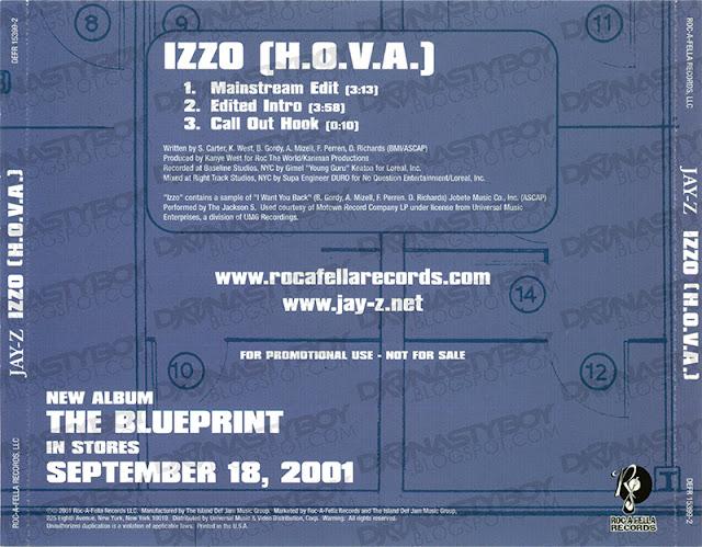 Promo import retail cd singles albums jay z izzo hova artist jay z title izzo hova release type promo genre hip hop rap year 2001 tracks 03 format cd single label roc a fella records malvernweather Gallery