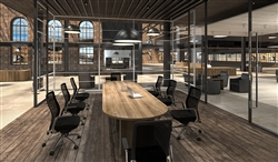 Boardroom Table With A Top That Can Expand