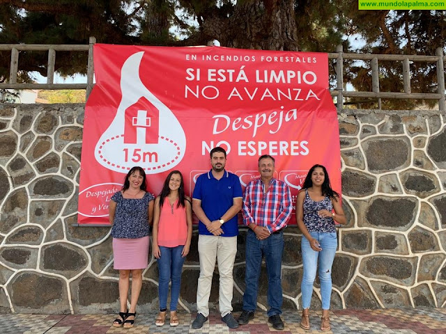 Medio Ambiente expresa su compromiso de cooperar con Puntagorda para contribuir al desarrollo municipal