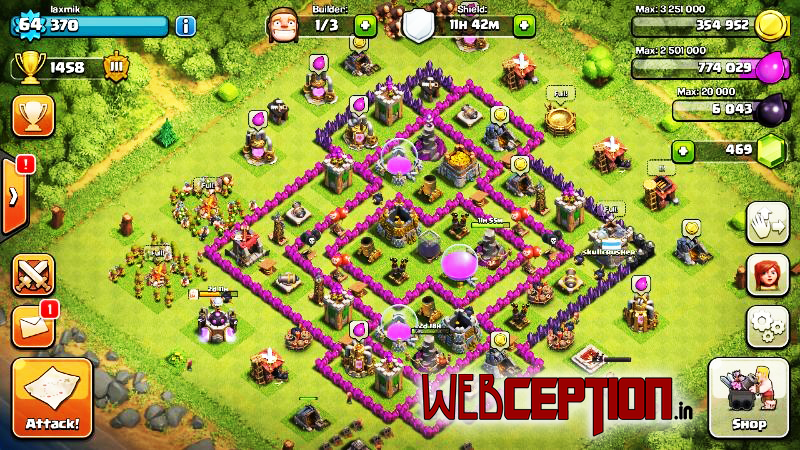 Clash of clans android game tips tricks, powerful base