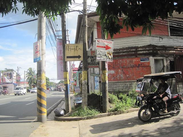 Pinto Art Museumまでの道のり写真1