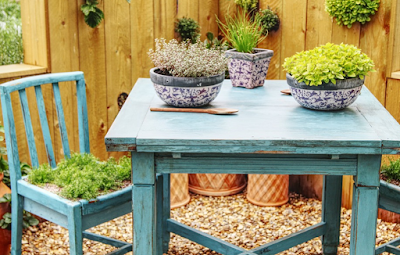 โต๊ะนั่งเล่นในสวน 4