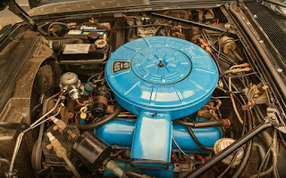 1966 Lincoln Continental Luxury Coupe Engine