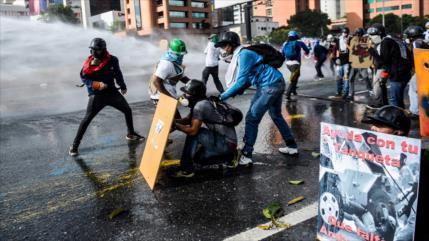 Terroristas' matan a policía venezolano en medio de protestas