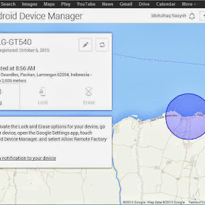 Setting Android Devices Manager [ADM] Sebagai Alat Anti Maling