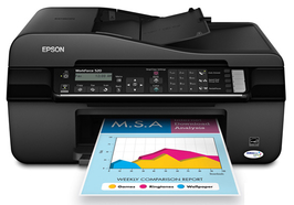 Epson workforce 520 Driver Download