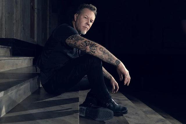James Hetfield fará sua estréia no cinema