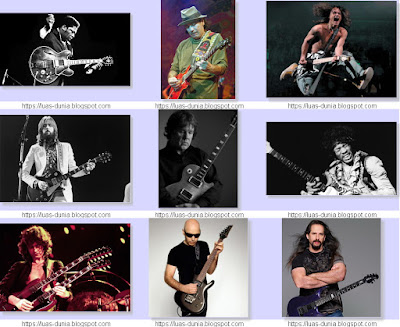 Video Skill Gitaris Dunia