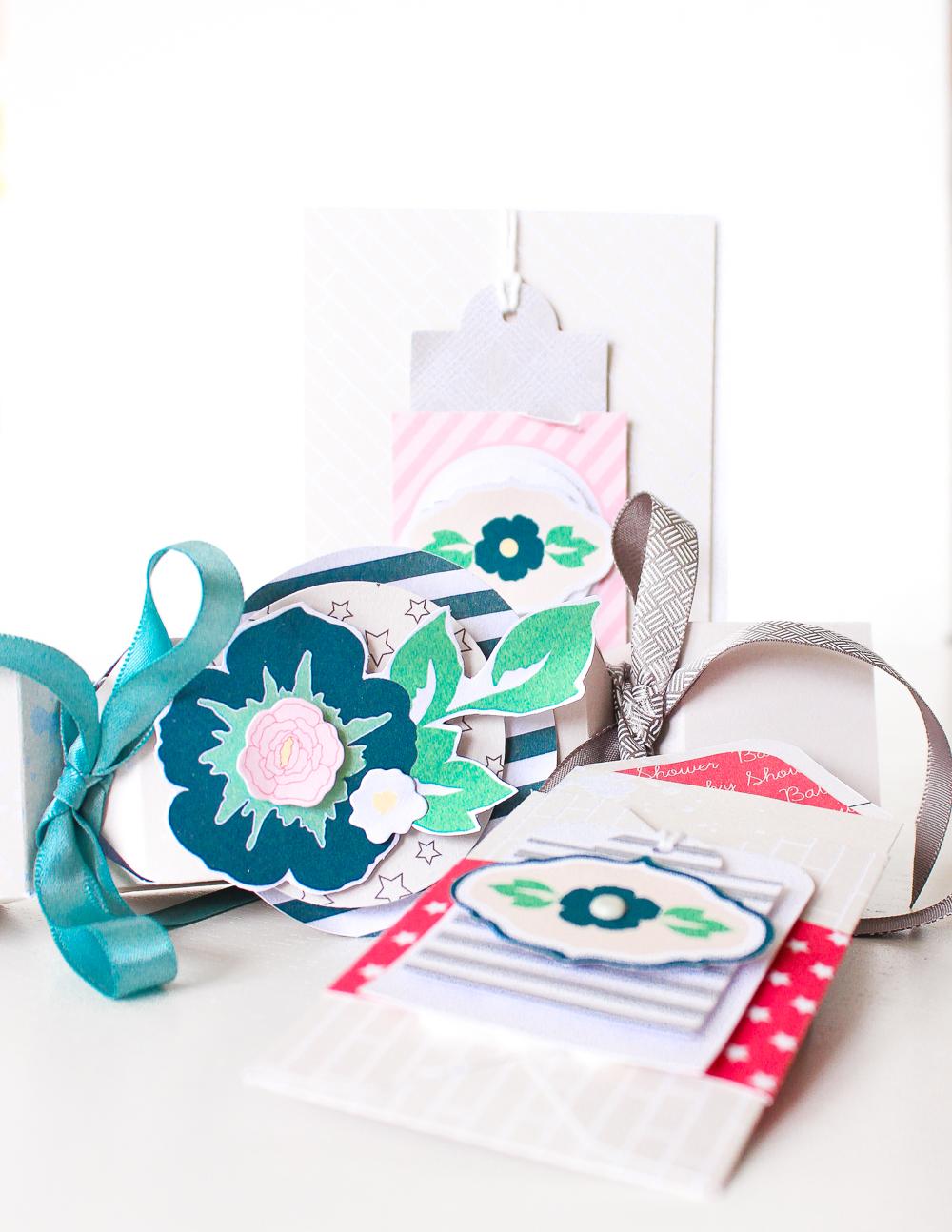 Geschenkverpackungen und Karte |Frühling und Ostern in Pastell von Janna Werner