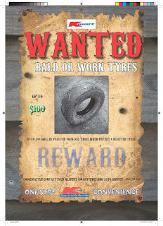 WANTED POSTER ADVERTISING