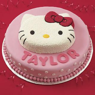 Gambar Kue Hello Kitty yang Lucu 10