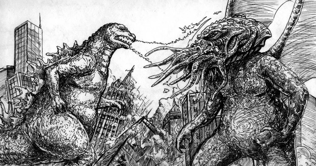 Zombiecowboys Game Blog Godzilla Vs Cthulhu