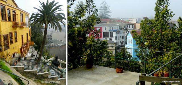 Pátios no Cerro Concepción, Valparaíso, Chile
