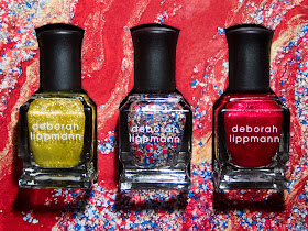 Deborah Lippmann Celebration Trio via @chalkboardnails