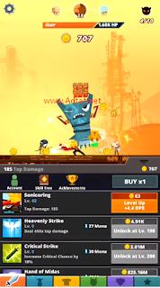 Tap Titans 2 Mod Apk V1.0.2 Unlimited Money