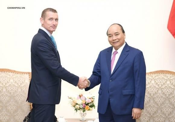 Thủ tướng Nguyễn Xuân Phúc tiếp ông Spencer Damian White