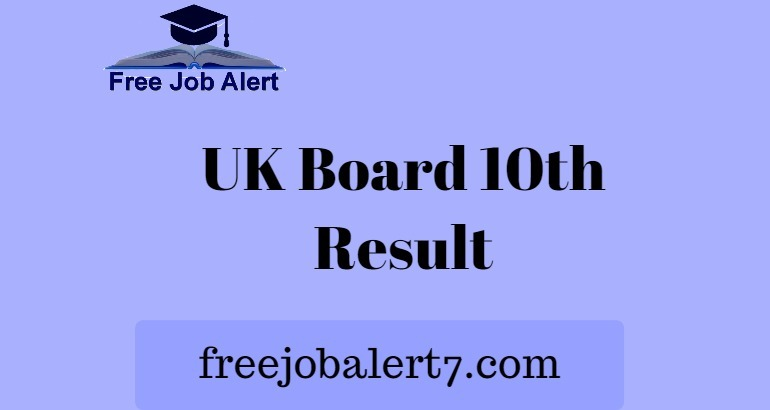 Uttarakhand 10th Result 2019, UK Board 10th Result 2019