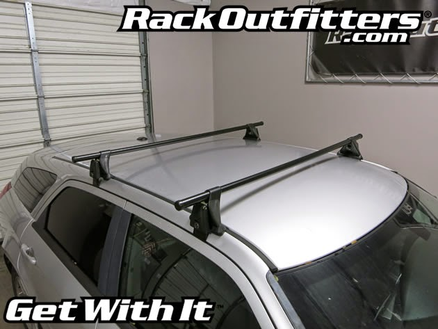 Yakima Q Clips >> Dodge Magnum Yakima Q Tower Round Bar Roof Rack '05-'08 - Rack Outfitters