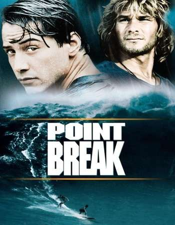 Poster Of Point Break 1991 English 350MB BRRip 480p Watch Online Free Download downloadhub.net