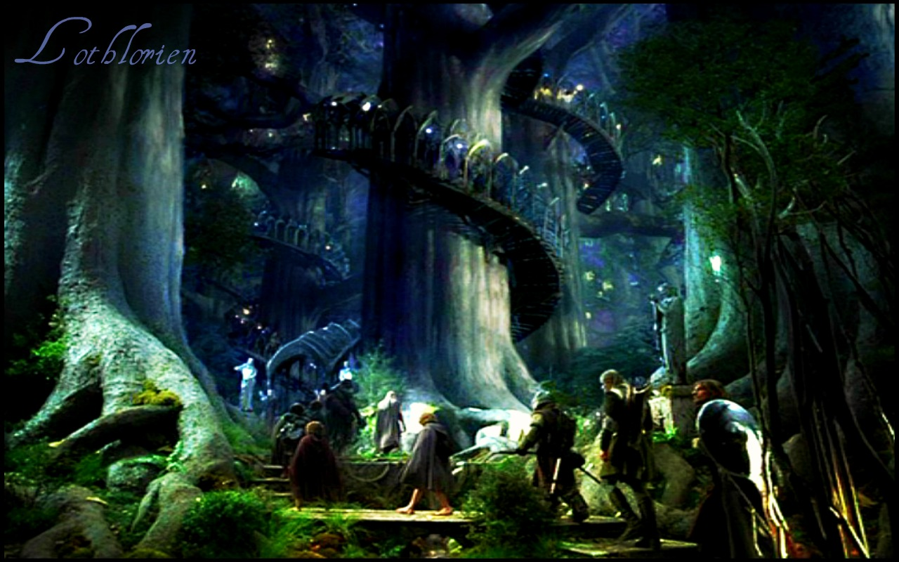 Lord Rings Trees