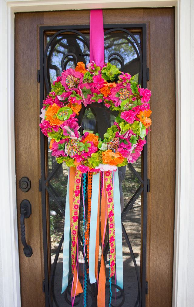 Lovely Fiesta Wreath! | Design Improvised BT84