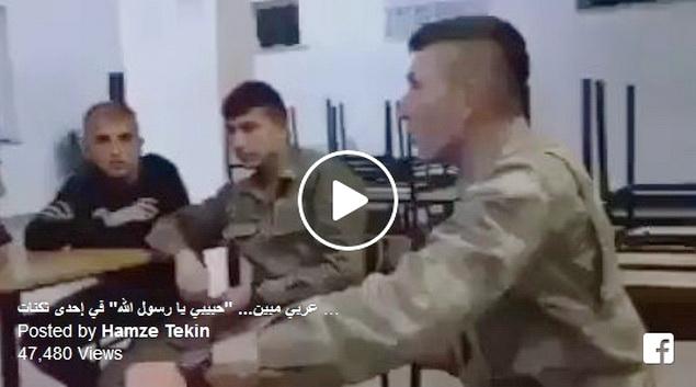 Subhanallah, Kemerduan Shalawat Tentara Turki Ini Membuat Netizen Merinding
