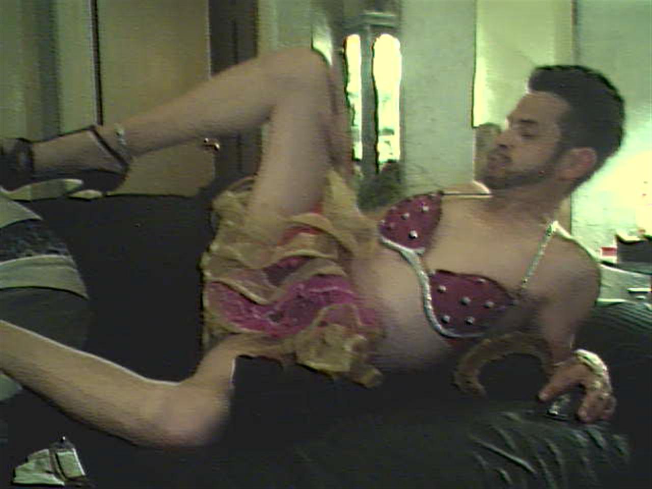 panty wearing sissy faggot whore