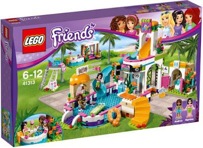 JUGUETES - LEGO Friends  41313 Piscina de verano de Heartlake  2017 | Edad: 6-12 años  Comprar en Amazon España