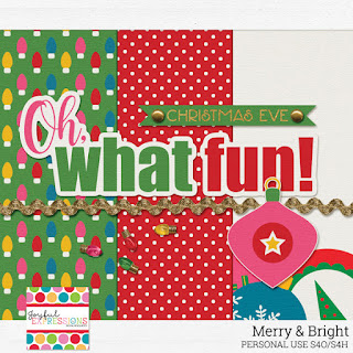 Creative Team, Annemarie, for GingerScraps - Tuck It 3 Templates by Miss Fish Merry and Bright, Joyful Expressions and Coordinating Freebie (FWP);