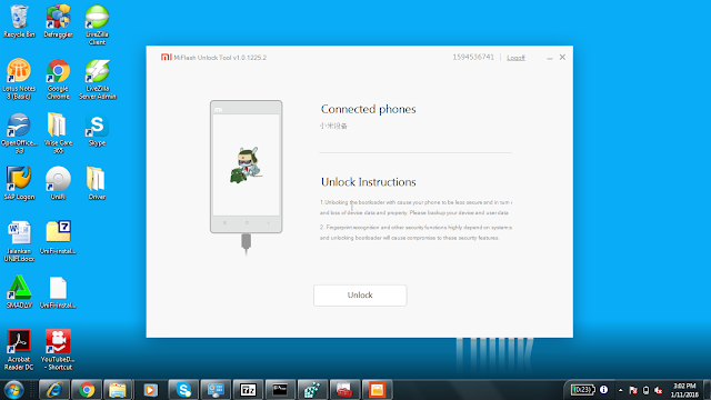 Cara Unlock Bootloader Xiaomi Note 3 Pro