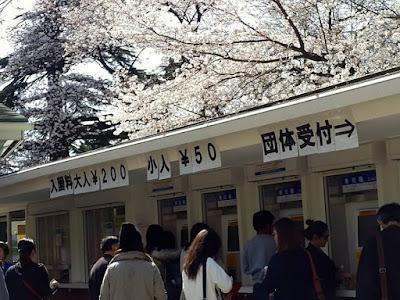 Shinjuku Gyoen Admission Fees in Tokyo