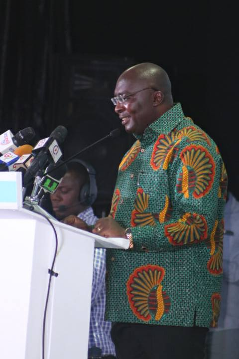 Government Keenly Interested in Young Entrepreneurs - Vice President Mahamudu Bawumia Assures