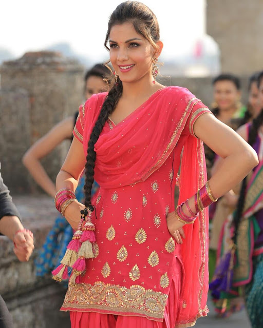 Monica Gill in suit