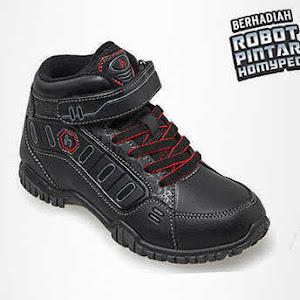 Sepatu Anak Laki-Laki Homyped Artemis 03 Black